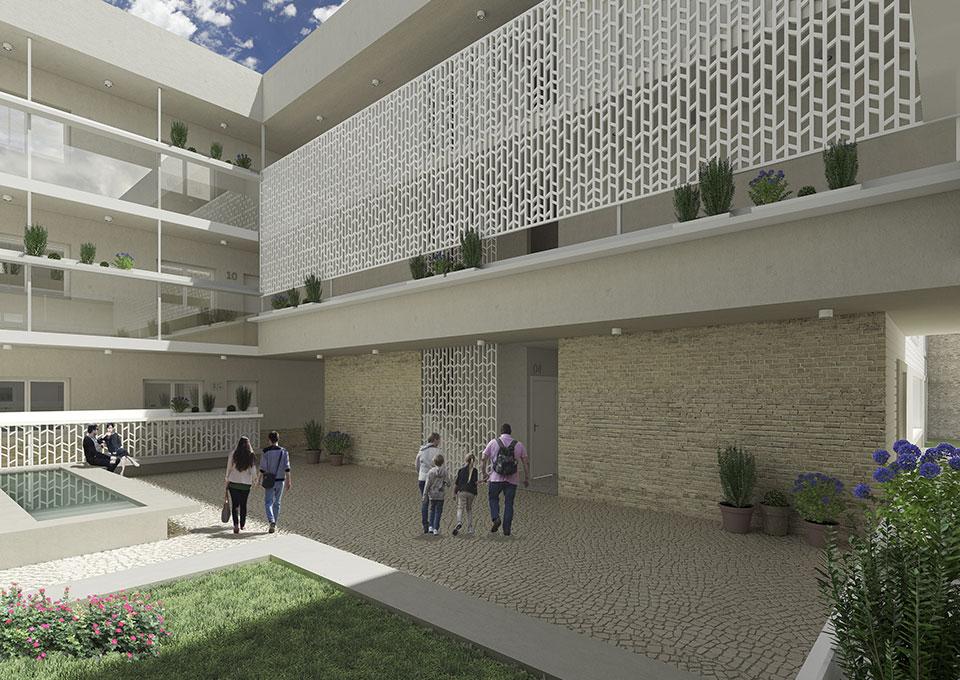 Promoci n de pisos en santa clara sevilla centro grupo gs - Pisos en el centro de sevilla ...